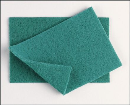 Green Scourer 9''x6'' Qty 10